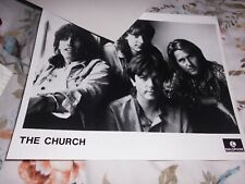 THE CHURCH, PARLOPHONE, ORIGINAL ISSUE PROMO PHOTO