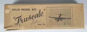 (165) WW2 Period Grace Airplanes 1/72nd Wooden Model of a Mosquito, Wrong Box