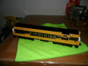 Lionel Conventional Classic, Virginian FM, Yellow Black and Gold, Very Nice