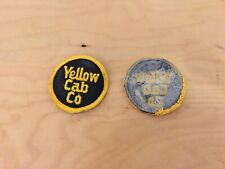 yellow cab company   patch,nos,1960's