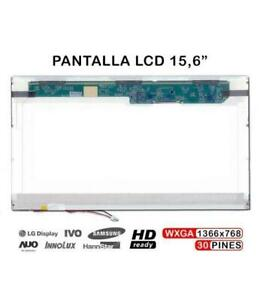 "PANTALLA 15.6"" HD LCD CCFL LTN156AT01 N156B3-L02 156WA01S DISPLAY"