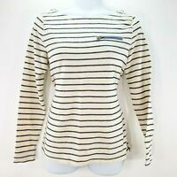 Lauren Ralph Lauren Womens Top Size XSmall Striped Boat neck Cotton LRL Shirt