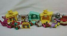 Flintstones Houses Vehicles McDonald's Happy Meal Toys VTG Fred Dino Alien Wilma