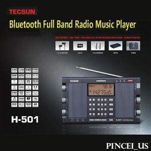 Tecsun H-501 Radio Dual-Speaker DSP SSB Portable Full Band Radio Music Player BT