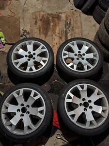 Vauxhall Astra/Zafira GSI 17 snowflake alloy wheels