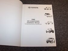 1995 Toyota Pickup Truck Air Conditioner AC Service Installation Manual DX SR5