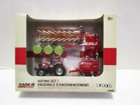 NEW 1/64 Case IH 4pc Haying Set PUMA 210 Tractor, Baler, 8312 MOCO & Hay Rake