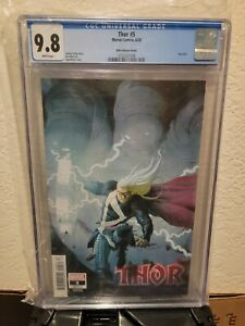 Thor #5 1:25 Ribic Variant CGC 9.8 1st full appearance Black Winter Donny Cates