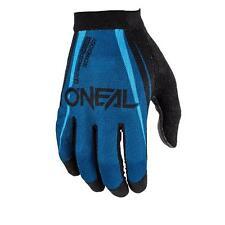 ONeal AMX Handschuh Blocker Schwarz Blau DH Fahrrad MTB Mountainbike Trail Bike