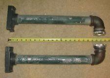 1 Set of Side of pole steel pipe traffic signal light brackets (#R)