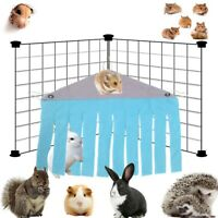 Small Pet Animal Hamster Tent Hammock Pet Hideout Cage Accessories Nest Bed·