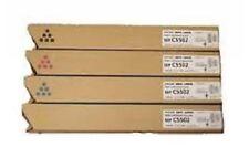 4x Original toner ricoh MP c5502 MP c4502 INFOTEC Lanier 842020-842023 Cartridge