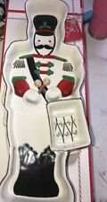 """Lenox Holiday Christmas Chip & Dip Server - 16"""" Toy Soldier"""