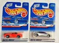 HOT WHEELS Mattel 1998 First Editions - Chrysler Thunderbolt & Dodge Sidewinder