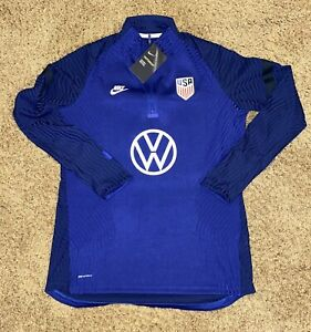 Nike Women's USWNT USA US Soccer VaporKnit Strike Drill Top Large Volkswagen