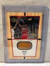 Michael Jordan 2000 Upper Deck MJs Final Floor Vintage MJ Jumbo Card FF6
