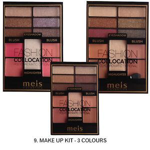 OX9 Wholesale Cosmetics European Highligher Blusher Ombre Eyeshadow Kit 24pcs