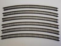 ARNOLD 1630 gebogenes Gleis R4 30° braun 6 Stück (35683)