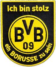 Aufnäher Borussia Dortmund Borusse - 10 cm