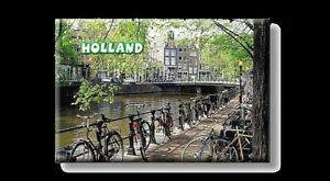 Holland Amsterdam Grachten Foto Magnete Olanda Souvenir, New