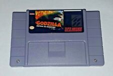 Godzilla - Destroy All Monsters - game For SNES Super Nintendo -