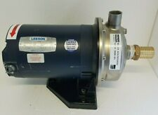 Ebara 2 Hp Stainless Centrifugal Pump 36 Gpm 3 Ph Acdu70520d3g 1 14 X 1