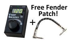 New TrueTone Visual Sound Time Bandit Tap Tempo Click Track Sync Pedal!