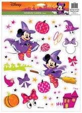 Minnie Mouse Witch Window Clings Halloween Prop Decoration NEW