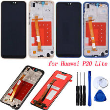 For Huawei P20 Lite LCD Display + Touch Screen Digitizer Assembly + Frame Tools
