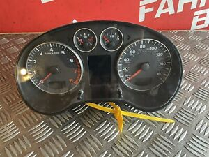 2008 AUDI A3 8P 1.4 TFSI Speedometer Petrol Instrument Cluster 8P0920982F