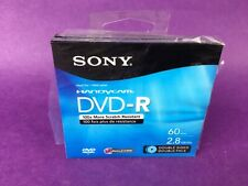 Sony Dvd-r Double Sided 60 Min 2.8gb 2 Pack