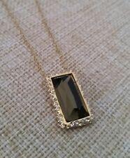Alexis Bittar Miss Havisham Framed Quartz and Labradorite Doublet necklace