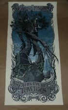 The Lord of the Rings Two Towers Aaron Horkey movie poster print Mondo Mondotees