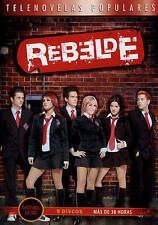 Rebelde - La Serie Completa (DVD, 2015, 9-Disc Set)
