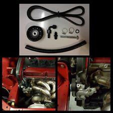 Strictly Modified Mitsubishi Evo 8 & 9 Power Steering Delete Kit 4G63 Evolution