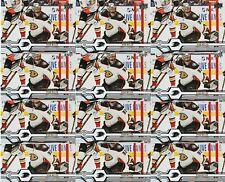 RYAN MILLER 24 CARD LOT 19-20 UPPER DECK HOCKEY # 429 ANAHEIM DUCKS UD 2019-20