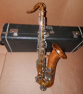 Vintage Evette Schaeffer Tenor Sax Saxophone !