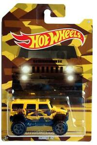 2017 Hot Wheels Camouflage Series #1 Hummer H2
