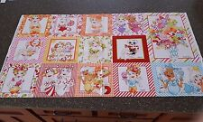 Sweetie Panel by Loralie Harris QT Colorful Lady Candy Picture Patches 23x42