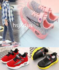 Mädchen Jungen Sneaker Sportschuhe kinder freizeit Turnschuhe Atmungsaktiv Licht