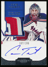 CAM TALBOT 2011-12 DOMINION AUTO RC PATCH #/199 MINNESOTA WILD AUTOGRAPH ROOKIE