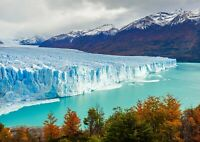 A1 Perito Moreno Glacier Poster Art Print 60 x 90cm 180gsm Argentina Gift #16392
