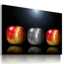APPLES FRUITS VEGETABLES KITCHEN  Canvas Wall Art Picture F71 MATAGA . NO FRAME