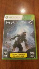 Halo 4 (Xbox 360, 2012) MINT 2-DISC SET! MAIL TOMORROW!