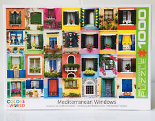 Eurographics Puzzle 1000 Pieces Mediterranean Windows Colors Of The World NEW