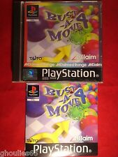 BUST A MOVE 4 PLAYSTATION 1 BUST A MOVE 4 PS1 PSONE PS2 PS3