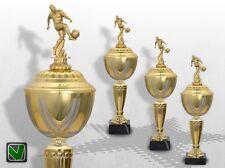 3er Fussball Pokale mit Gravur günstig kaufen GOLDEN PRESTIGE Pokal Fussball