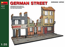 MiniArt 1/35 36037 German Street (WWII Military Diorama)