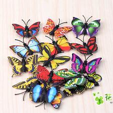 10 x Miniature Modèle Bonsai Bol Fée Jardin Nouveau Papillon Scrap Book Craft