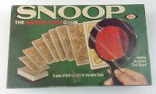 Vintage Snoop the Marked Card Game 1965 Ideal Toy Corporation Complete